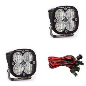 557805-RPSBA1467 - racingpowersports.com - Baja Designs Squadron Sport Pair ATV LED Light Wide Cornering Pattern