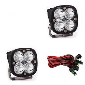 557806-RPSBA1468 - racingpowersports.com - Baja Designs Squadron Sport Pair ATV LED Light Flood Work Pattern