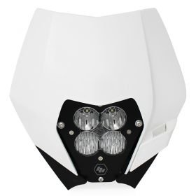 507061AC-RPSBA1894 - racingpowersports.com - Baja Designs XL Pro A/C LED Light Kit w/ Headlight Shell KTM 2008-2013