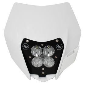 507091AC-RPSBA1895 - racingpowersports.com - Baja Designs XL Pro A/C LED Light Kit w/ Headlight Shell KTM 2014-2016
