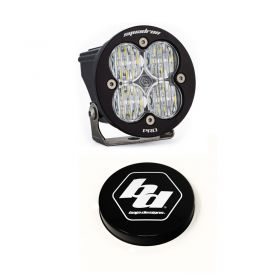 590005+668007-RPSBA2042 - racingpowersports.com - Baja Designs Squadron-R Pro LED Wide Cornering Light Kit & Rock Guard Black