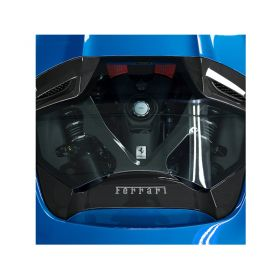 03FE08710013LG-RPSCO420 - racingpowersports.com - Capristo Ferrari 488 GTS Spider Carbon Engine Bonnet with Glass