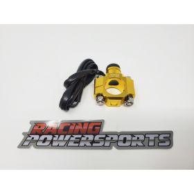 RPS17-RPS17 - racingpowersports.com - RacingPowerSports Universal ATV Dirt Bike Engine Kill Switch Aluminum Gold