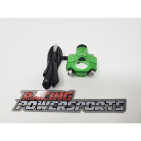 RPS14-RPS14 - racingpowersports.com - RacingPowerSports Universal ATV Dirt Bike Engine Kill Switch Aluminum Green