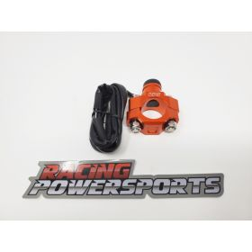 RPS18-RPS18 - racingpowersports.com - RacingPowerSports Universal ATV Dirt Bike Engine Kill Switch Aluminum Orange