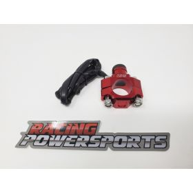 RPS16-RPS16 - racingpowersports.com - RacingPowerSports Universal ATV Dirt Bike Engine Kill Switch Billet Aluminum Red