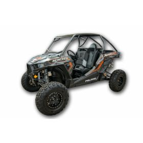 51-11-50-1-0-1-1-RPSLR571 - racingpowersports.com - LoneStar Racing LSR Polaris RZR XP Turbo Roll Cage With Rear Bumper Chromoly