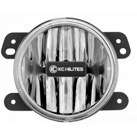 1497-RPSKC216 - racingpowersports.com - Kc Hilites Gravity Led G4 compatible with Jeep Jk 2010-2018 Led Fog Clear Single