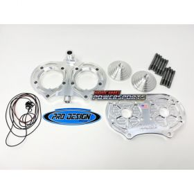 PD33-RPSPD33 - racingpowersports.com - Pro Design Billet Cool Head with 21cc Domes Yamaha Banshee 350 (All Years)
