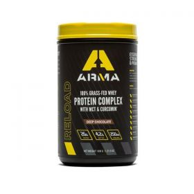 311-00 - racingpowersports.com - Arma Nutrition RELOAD Protein Complex 16 Serving Tub (Deep Chocolate)