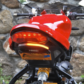 1200R-FE-T - racingpowersports.com - New Rage Cycles Tucked Fender Eliminator Kit for Ducati Monster 1200 R 2016+